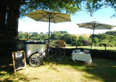 Wedding Money Ice Cream Bicycle
