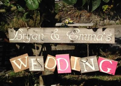 Wedding Toast Sign