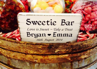 Weddings Fun Sweets